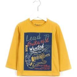 vaatteet Lapset Neulepusero Losan 625 1014AC Keltainen