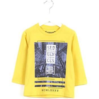 vaatteet Lapset Neulepusero Losan 625 1036AC Keltainen