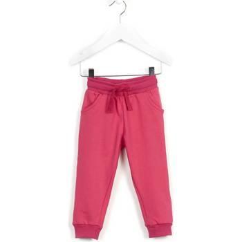 vaatteet Lapset Verryttelyhousut Losan 626 6014AD Vaaleanpunainen