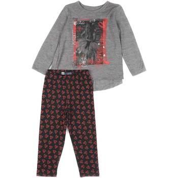 vaatteet Tytöt Kokonaisuus Losan 626 8016AD Harmaa