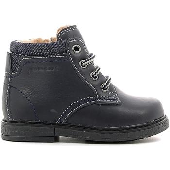 kengät Lapset Bootsit Geox B54D2D 000CL Sininen