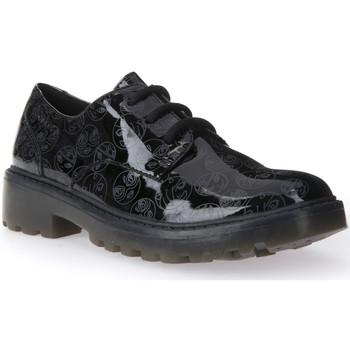 kengät Lapset Derby-kengät Geox J6420M 000FC Musta