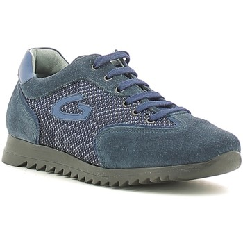 kengät Lapset Matalavartiset tennarit Alberto Guardiani GK22343G Sininen