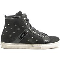 kengät Lapset Korkeavartiset tennarit Naurora NA-290 Musta