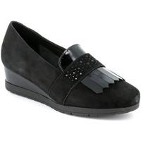 kengät Naiset Mokkasiinit Grunland SC4786 Musta