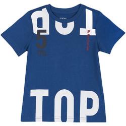 vaatteet Lapset Lyhythihainen t-paita Chicco 09006586000000 Sininen