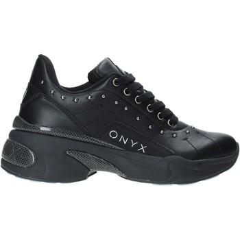 kengät Naiset Matalavartiset tennarit Onyx W19-SOX513 Musta