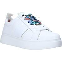 kengät Naiset Matalavartiset tennarit Wrangler WL01600A Valkoinen