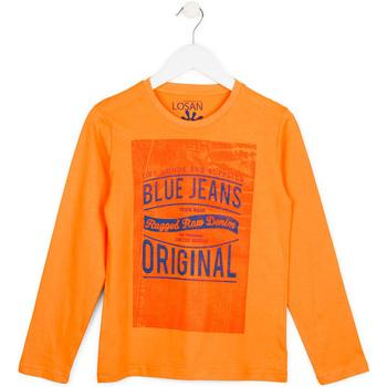 vaatteet Lapset Neulepusero Losan 713 1302AA Oranssi