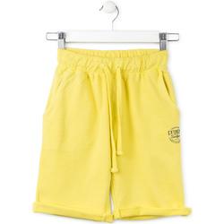 vaatteet Lapset Shortsit / Bermuda-shortsit Losan 713 6016AA Keltainen