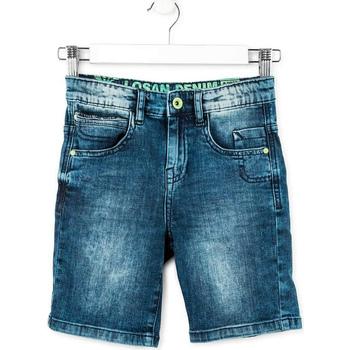 vaatteet Pojat Shortsit / Bermuda-shortsit Losan 713 9006AA Sininen