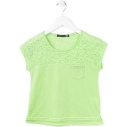 vaatteet Tytöt Lyhythihainen t-paita Losan 714 1013AB Vihreä