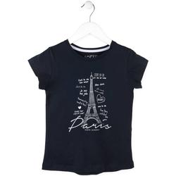 vaatteet Tytöt Lyhythihainen t-paita Losan 714 1210AB Sininen