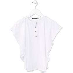 vaatteet Tytöt Topit / Puserot Losan 714 3002AB Valkoinen