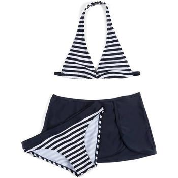 vaatteet Tytöt Kaksiosainen uimapuku Losan 714 4009AB Sininen