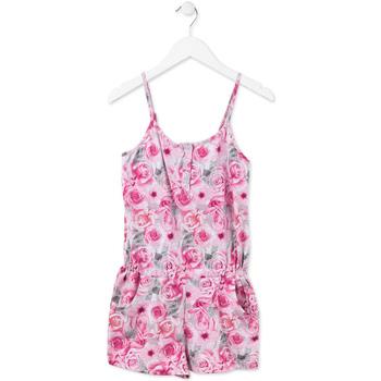 vaatteet Tytöt Jumpsuits / Haalarit Losan 714 7008AB Vaaleanpunainen