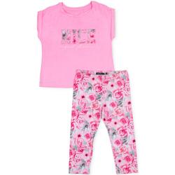 vaatteet Tytöt Kokonaisuus Losan 714 8004AB Vaaleanpunainen