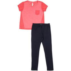 vaatteet Tytöt Kokonaisuus Losan 714 8008AB Vaaleanpunainen