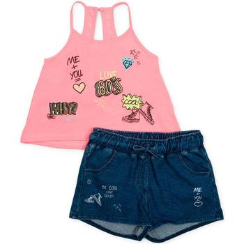vaatteet Tytöt Kokonaisuus Losan 714 8010AB Vaaleanpunainen