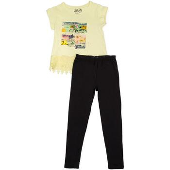 vaatteet Tytöt Kokonaisuus Losan 714 8018AB Keltainen