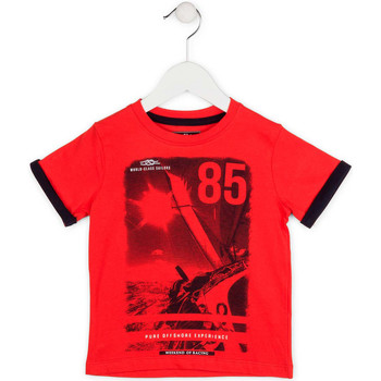 vaatteet Pojat Lyhythihainen t-paita Losan 715 1001AC Punainen