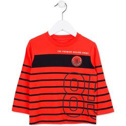 vaatteet Lapset Neulepusero Losan 715 1002AC Punainen
