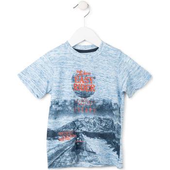 vaatteet Pojat Lyhythihainen t-paita Losan 715 1018AC Sininen