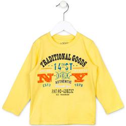 vaatteet Lapset Neulepusero Losan 715 1208AC Keltainen