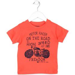 vaatteet Lapset Lyhythihainen t-paita Losan 715 1215AC Oranssi
