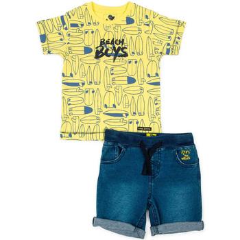 vaatteet Lapset Kokonaisuus Losan 715 8001AC Keltainen