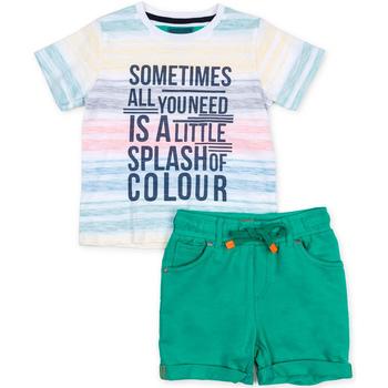 vaatteet Lapset Kokonaisuus Losan 715 8006AC Vihreä