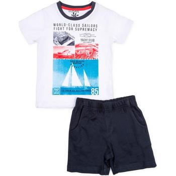 vaatteet Pojat Kokonaisuus Losan 715 8042AC Valkoinen