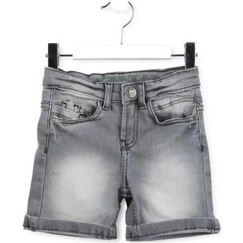 vaatteet Pojat Shortsit / Bermuda-shortsit Losan 715 9013AC Harmaa