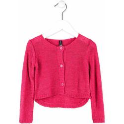 vaatteet Tytöt Neuleet / Villatakit Losan 716 5000AD Vaaleanpunainen