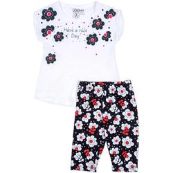 vaatteet Tytöt Kokonaisuus Losan 716 8012AD Valkoinen