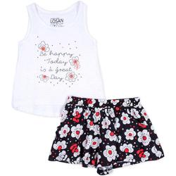 vaatteet Tytöt Kokonaisuus Losan 716 8013AD Valkoinen