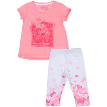 vaatteet Tytöt Kokonaisuus Losan 716 8014AD Vaaleanpunainen
