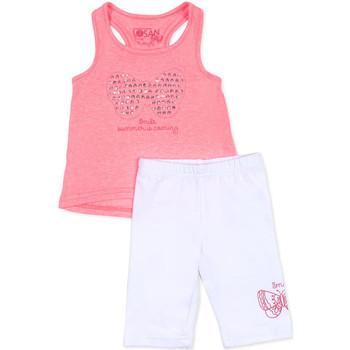 vaatteet Tytöt Kokonaisuus Losan 716 8015AD Vaaleanpunainen