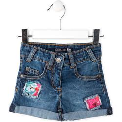 vaatteet Lapset Shortsit / Bermuda-shortsit Losan 716 9002AD Sininen