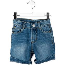vaatteet Pojat Shortsit / Bermuda-shortsit Losan 715 9662AC Sininen