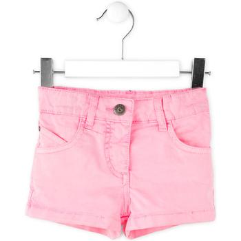 vaatteet Tytöt Shortsit / Bermuda-shortsit Losan 716 9652AD Vaaleanpunainen