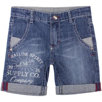vaatteet Pojat Shortsit / Bermuda-shortsit Primigi 37242031 Sininen