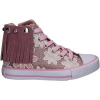 kengät Tytöt Korkeavartiset tennarit Lulu LV010072S Vaaleanpunainen