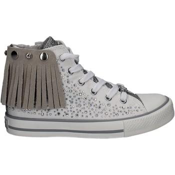 kengät Tytöt Korkeavartiset tennarit Lulu LV010072S Valkoinen
