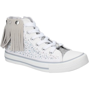 kengät Tytöt Korkeavartiset tennarit Lulu LV010074T Valkoinen