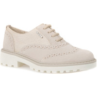 kengät Lapset Derby-kengät Geox J6420F 02211 Beige