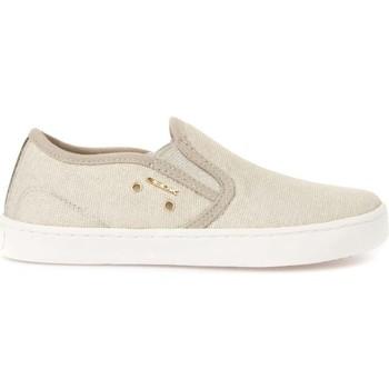 kengät Lapset Tennarit Geox J72D5F 00011 Beige