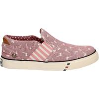 kengät Tytöt Tennarit Wrangler WG17121 Vaaleanpunainen