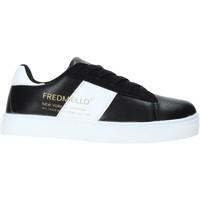 kengät Lapset Matalavartiset tennarit Fred Mello W19-SFK203 Musta