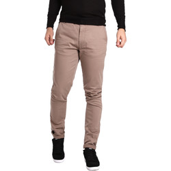 vaatteet Miehet Chino-housut / Porkkanahousut Gas 360704 Beige